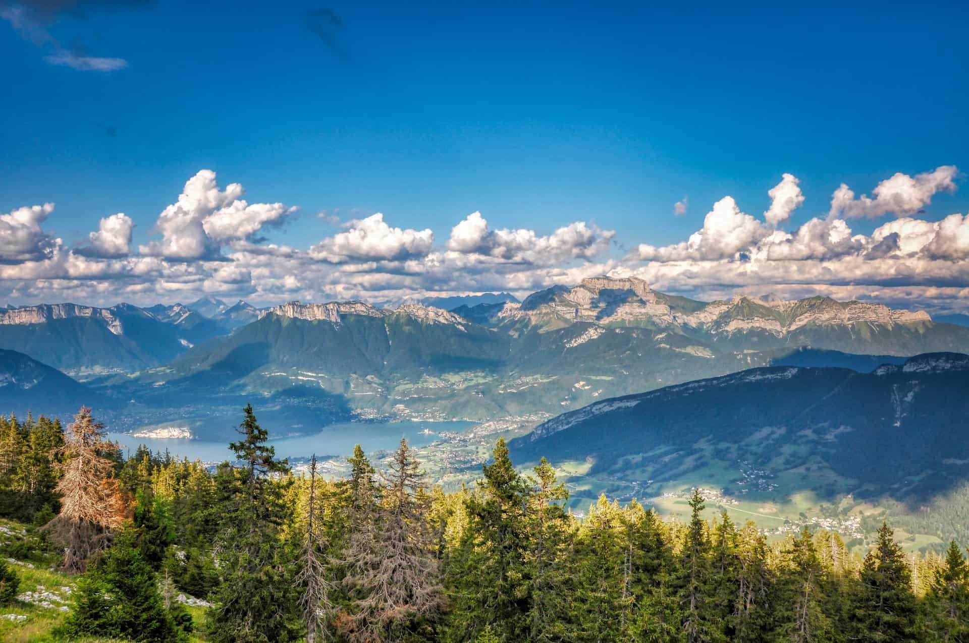 Lac d'Annecy Haute-Savoie
