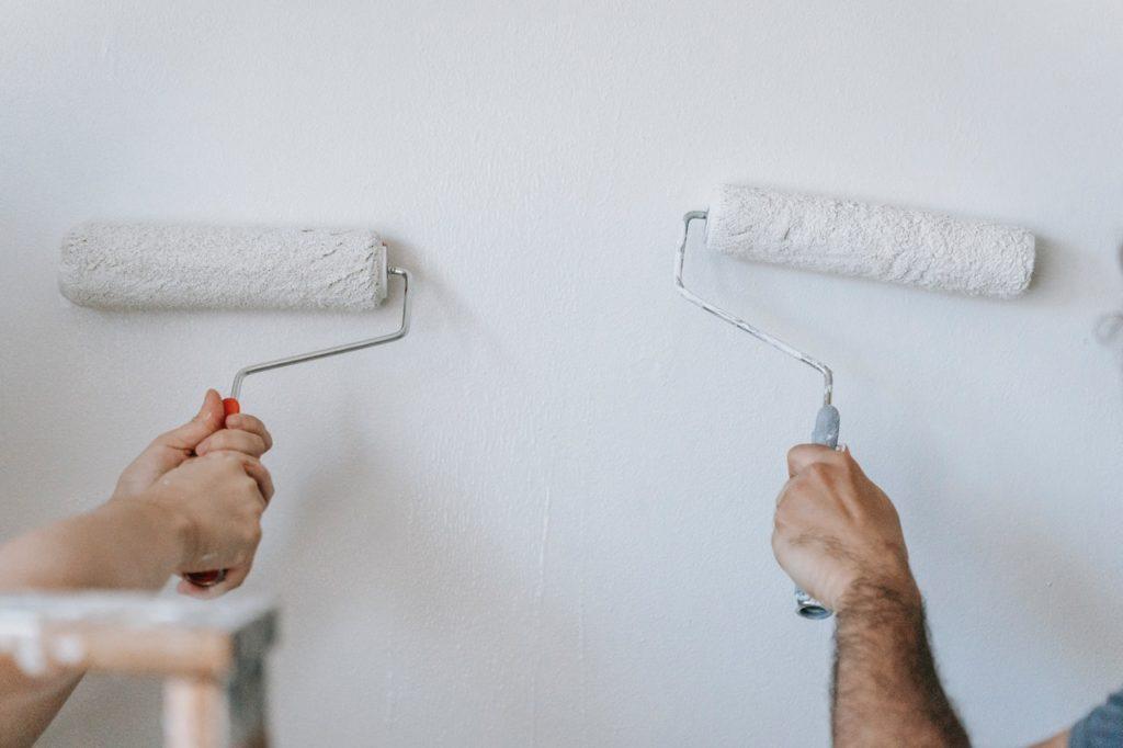 Droit locataire peinture murs