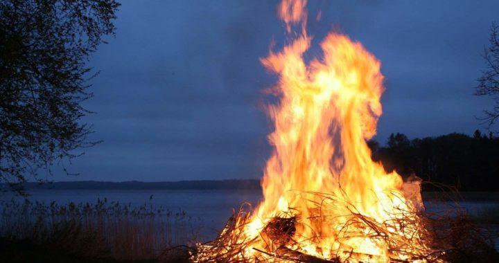 Faire du feu dans son jardin pour brûler des déchets verts, que dit la loi ?
